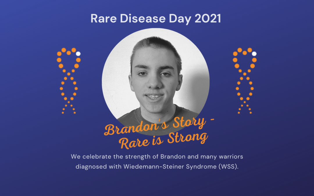 Brandon's Story: Rare is Strong
